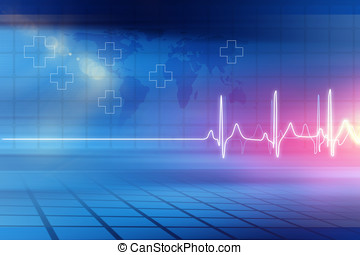 Medical Abstract Background Concept Series 05