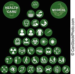 Medical and health care red Icon