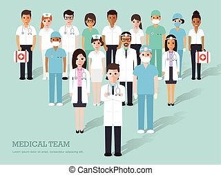 medical and hospital staff