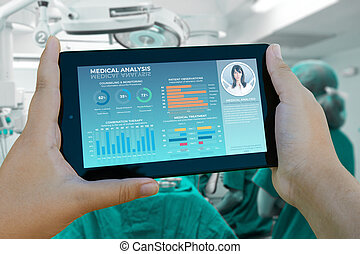 Medical app in operating room
