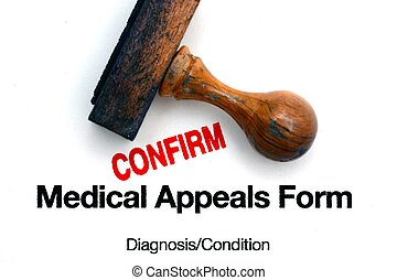 Medical appeal form