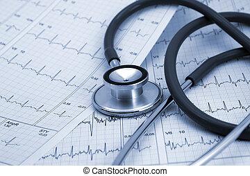Medical background - Stethoscope medical background