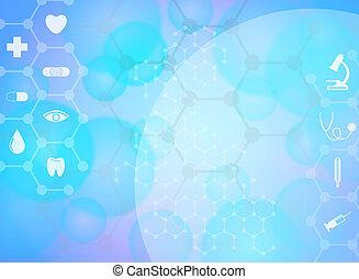 Medical background. Vector Illustration, eps 10
