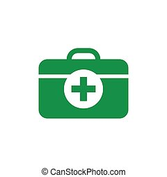 Medical bag icon