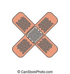 medical bandage icon image
