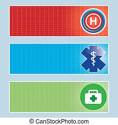 Medical banner set.  - Medical banner set .vector.eps10