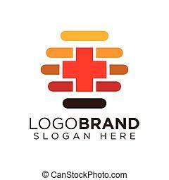 Medical Bee Logo Icon Vector