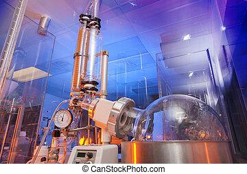 Medical biology research lab
