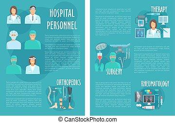 Medical brochure for hospital personnel doctors - Hospital...
