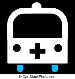 Medical Bus Icon