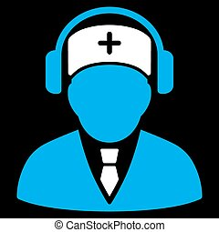 Medical Call Center Icon