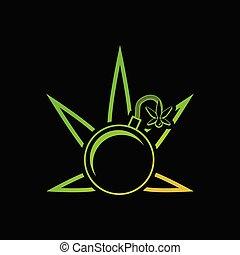 Medical cannabis as a bomb