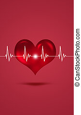 Medical cardiogram Illustration