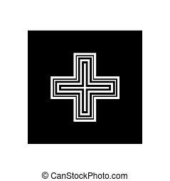 medical care symbol vector