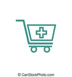 Medical Cart icon