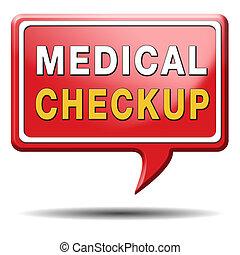 medical checkup - medical check up or physical examination...
