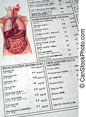 Medical Checkup Report - Medical and lab test report