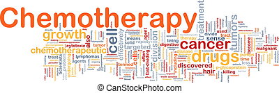 Medical chemotherapy background concept - Background concept...