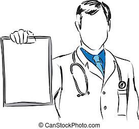medical concepts 3 doctor illustration