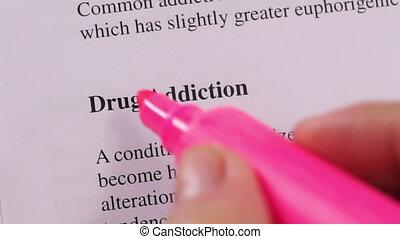 Medical Condition Drug Addiction