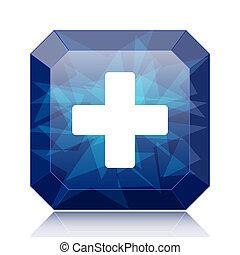Medical cross icon