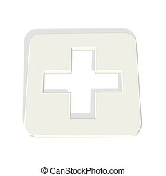 medical cross symbol icon