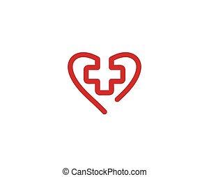 Medical cross vector icon