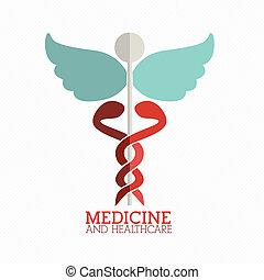 medical design - medical design over white background vector...