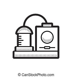 Medical Device Icon, Dialysis machines