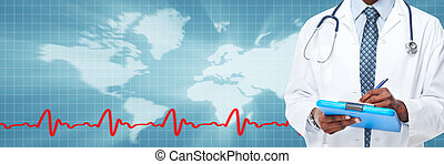 Medical doctor hands. - Medical physician doctor hands....