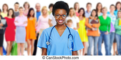 Medical doctor. - Medical doctor and people group. Health ...