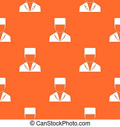 Medical doctor pattern seamless