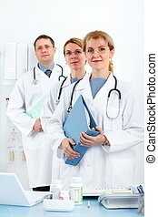 Medical doctors.