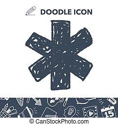 medical doodle