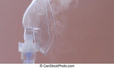 Medical equipment and drugs for asthma. Nebulizer, inhaler, ...