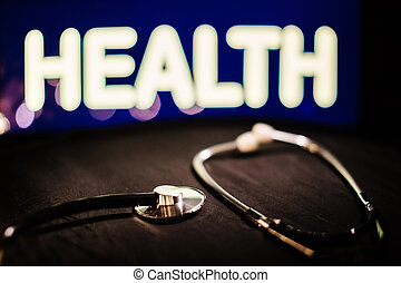 Medical equipment health care background