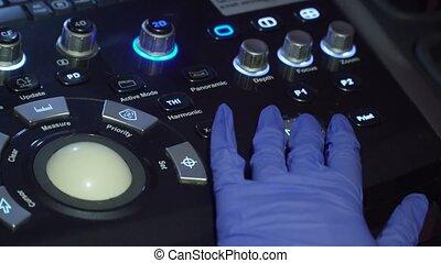 Medical equipment, ultrasound machine