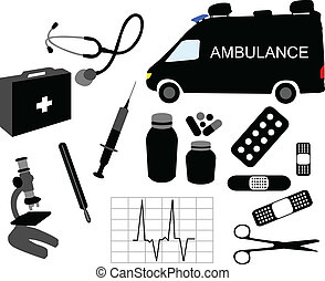 medical equipment - vector