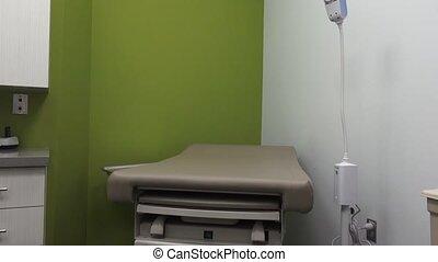Medical Exam Room - A shot of a medical exam room starting...
