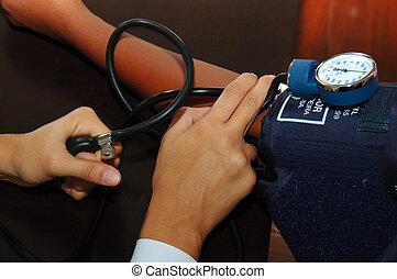 Medical Health Care - Blood Pressure Gauge