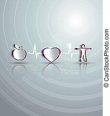 Medical health care design.