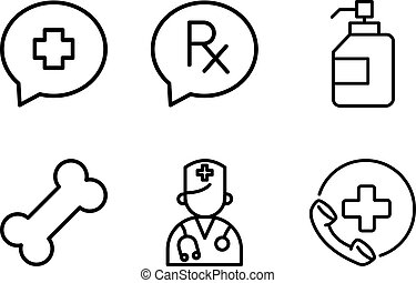 Medical Health Emergency Doctor Icon