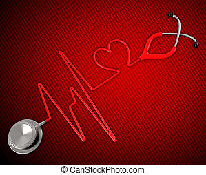 Medical Health Shows Preventive Medicine And Cardiac -...