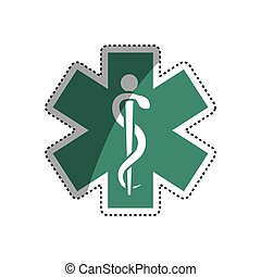 Medical healthcare symbol