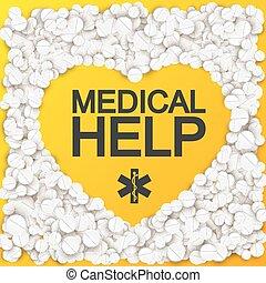 Medical Help Background