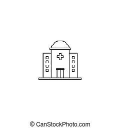medical hospital icon