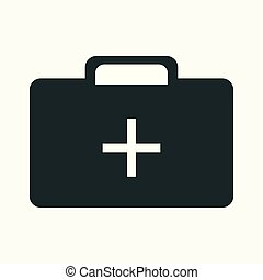 Medical icon. Flat isolated illustration for your web design.