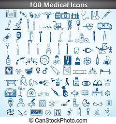 Medical icon set - easy to edit vector illustration of...