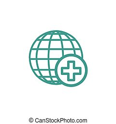 Medical icon sign