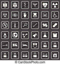 Medical icon vector set